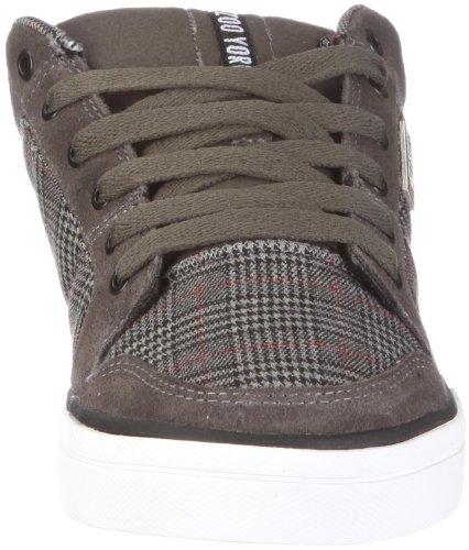 Zoo York Footwear Huber 42149 GYBK, Sneaker Uomo, Grigio (Grau/GYBK), 43