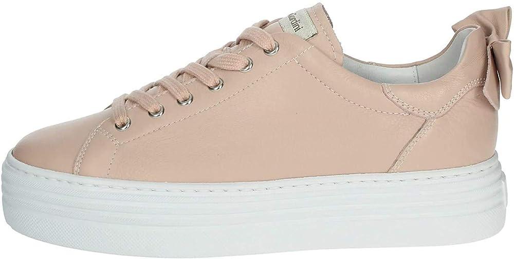 Nero giardini, scarpe per donna , sneakers , in pelle 0700D