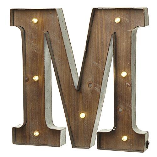 Unbekannt Heaven Sends Buchstaben mit LED-Beleuchtung (41 x 5 x 41 cm) (M)