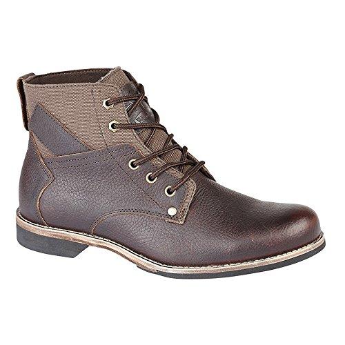 Woodland M9578B 5 Eye Herren Ankle Stiefel, Braun, Größe 42