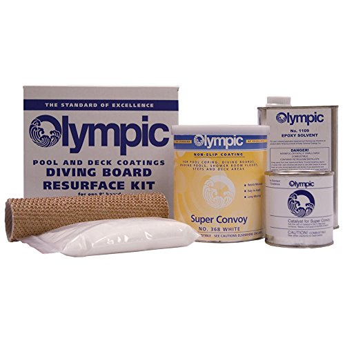 Kelly Technical Olympic Diving Board Resurfacing Kit - White Finish