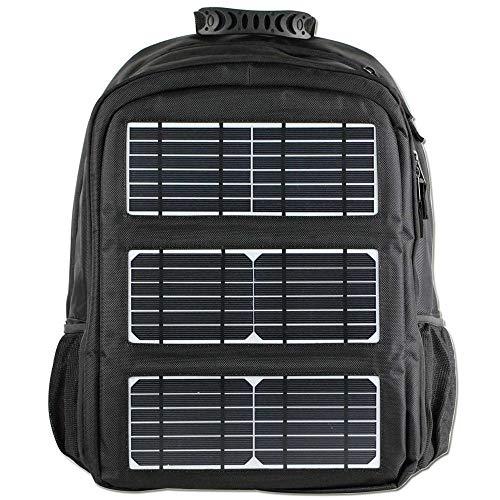 FAGavin Cargador Solar Al Aire Libre del Viaje USB De La Mochila del Poliéster De Los Deportes De Los Nuevos Hombres Al Aire Libre