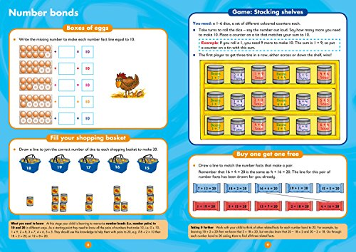 Maths Ages 5-7: Prepare for school with easy home learning (Collins Easy Learning KS1)