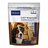 Virbac C.E.T. Enzymatic Oral Hygiene Chews, Large for Dogs over 50 pounds
