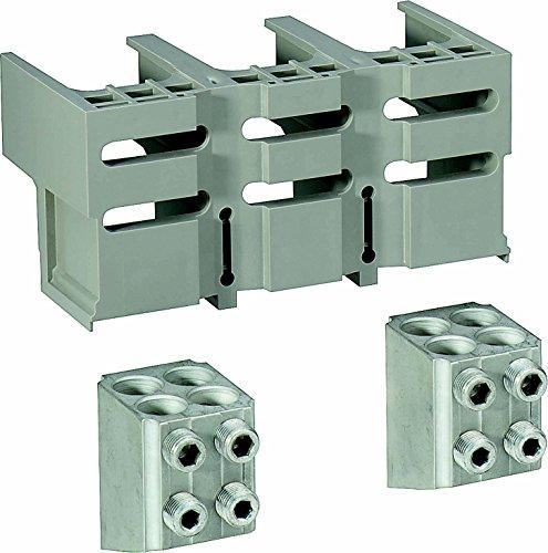Schneider 33641 Klemmensatz, 4 Stück, für 4x150mm2, Kabel und 1 Steckverbinder-Abschirmung
