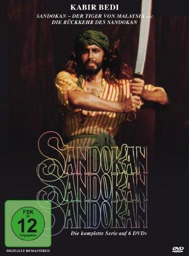 Sandokan - Box/Die komplette Serie (6 DVDs)