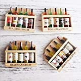 Decoraciones de jardín, imanes de nevera 1 pieza 3d lindo soporte de botella de vino de madera imanes de nevera para niños decoración del hogar adornos figuras juguetes para niños estilo aleatorio