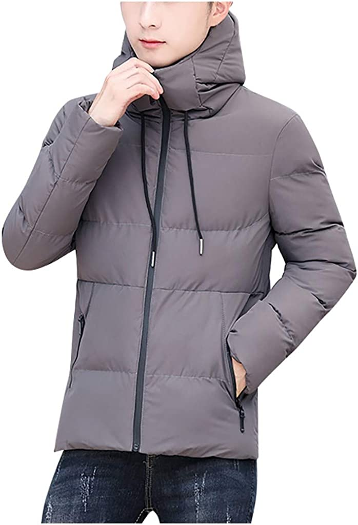 HebeTop Max 66% OFF Hooded Coat Fashion Men Winter Casual Warm 2021new shipping free shipping Padded Cotto
