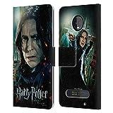 Head Case Designs Officiel Harry Potter Severus Snape Deathly Hallows VIII Coque en Cuir à...
