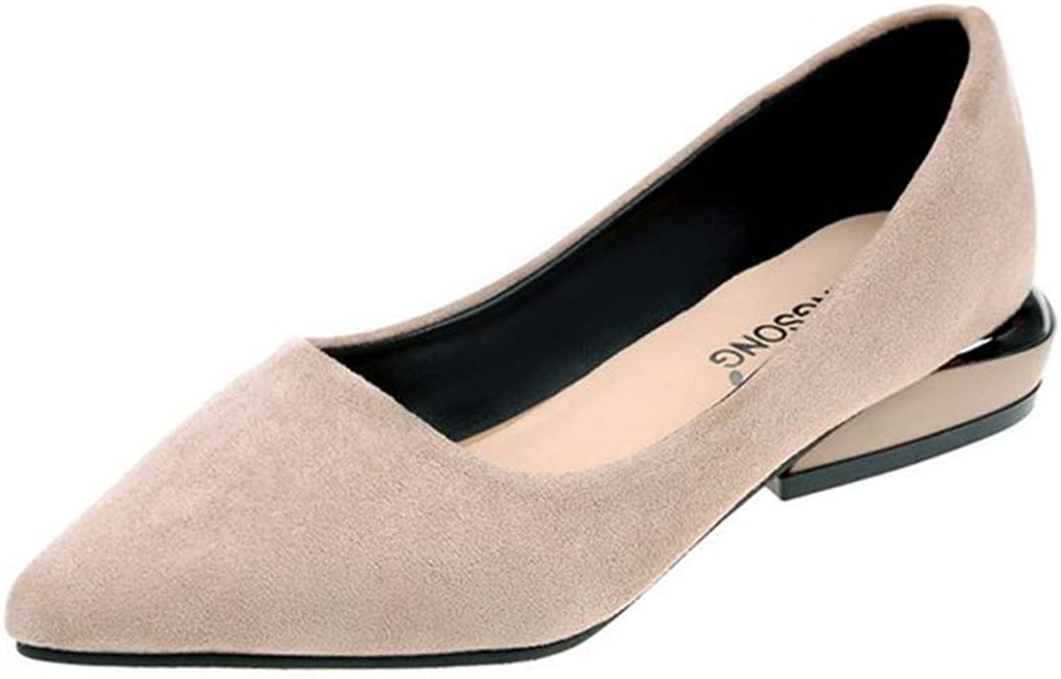 FORTUN Women's Dress shoes Flat shoes Pointed Toe Casual shoes Pumps
