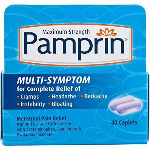Pamprin Multi-Symptom Formula, 40 Caplets