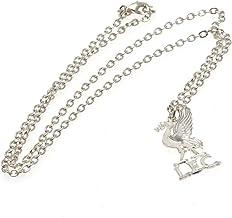 Liverpool F.C. Silver Plated Pendant & Chain LB