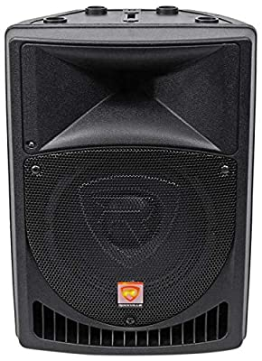 "Rockville RPG8 8"" Powered Active 400 Watt 2-Way DJ PA Speaker System"