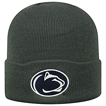 Top of the World Penn State Nittany Lions Men s Cuffed Knit Hat Charcoal Icon One Fit