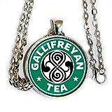 Doctor Who inspired Gallifreyan tea/coffee symbol - HM