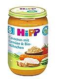 HiPP Couscous mit Gemüse und Bio-Hühnchen, 6er Pack (6 x 220 g)