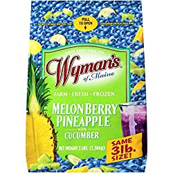 Wyman's of Maine Melon Berry Pineapple with Cucumber, 3lbs (frozen)