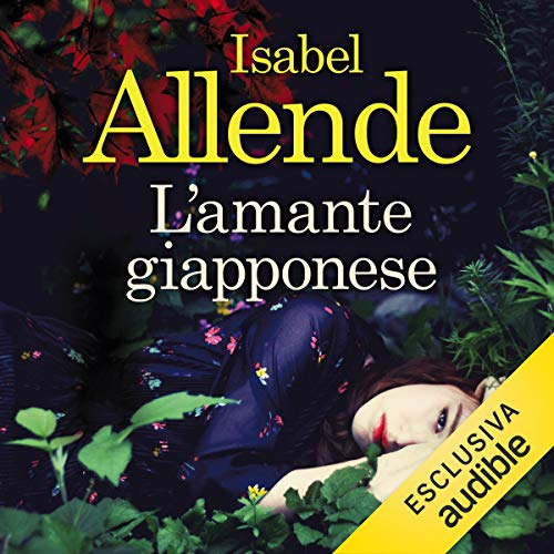 L'amante giapponese audiobook cover art