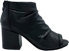 Ritmo Shoes Tronchetti Spuntati con Tacco Largo