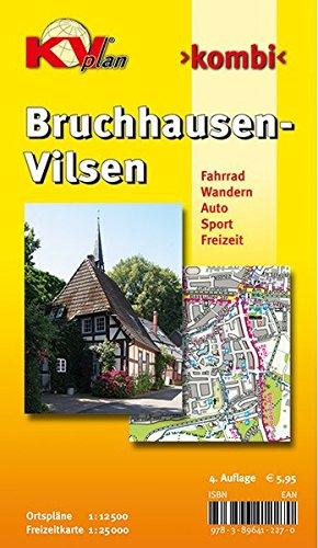 Bruchhausen-Vilsen: 1:12.500 Samtgemeindeplan mit Freizeitkarte 1:25.000 inkl. Rad- und Wanderwegen: Ortspläne 1 : 12 500. Freizeitkarte 1 : 25.000. ... Sport. Freizeit. (KVplan Ostfriesland-Region)