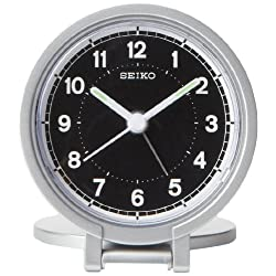 Seiko 3 Round Travel Analog Alarm Clock