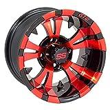 GTW Vampire 14x7 Black/Red Wheel