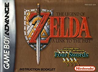 The Legend of Zelda - A Link to the Past / Four Swords GBA Instruction Booklet (Game Boy Advance Manual only) (Nintendo Game Boy Advance Manual)