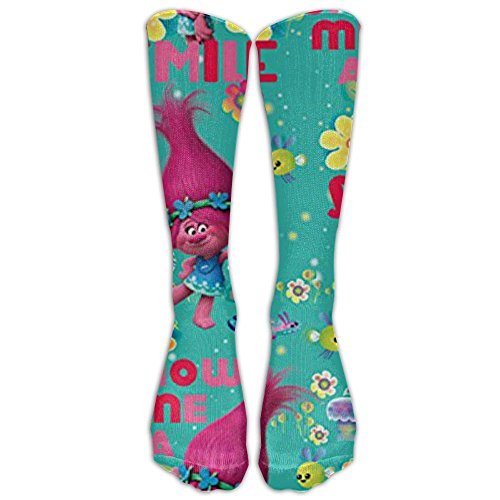 dfjdfjjgfhd Sock Trolls Poppy Beautiful Unisex Outdoor Adult Sport Over-The-Calf Long Tube Stockings Crew Socken 40cm(15.74in) One Size