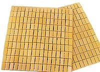 【 POSITIVE 】 涼み 竹 シーツ 竹マット デスク チェア マット を 快適 に 天然 竹 仕様 の ひんやりシーツ 座布団 保証書付き (44×43cm)