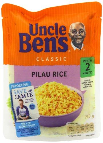 Arroz Pilau Express de Uncle Ben, 250 g