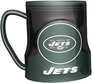 Boelter Brands NFL New York Jets 472926 Coffee Mug, Team Color, 18 oz