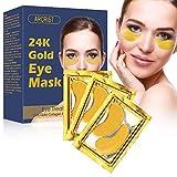 Mascara Para Los Ojos,Eye Mask,Ojos Parches,Iluminar y Reducir Arrugas,Reduce las Bolsas Bajo los ojo,Ojeras,Patas de Gallo e Hinchazón