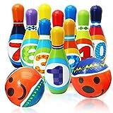 Soft Bowling Spielzeug Set Kegel...