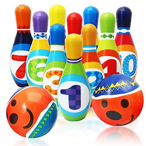 Twiddlers Juego de Bolos Suave para Niños - Bowling Set