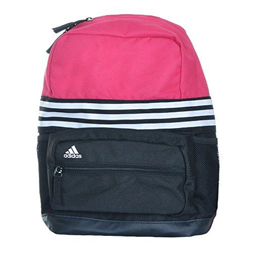 Adidas Kids AC3610/AC3611 - Mochila para niños (varios colores disponibles), infantil, negro y rosa, extra-small