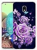 Sunrive Coque Compatible avec Samsung Galaxy J5 2017, Silicone Étui Housse Protecteur Souple Gel...