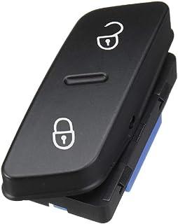Twowinds - 1K0962125B Interruptor de Puertas con Cierre de Botón Golf Jetta Sharan Tiguan