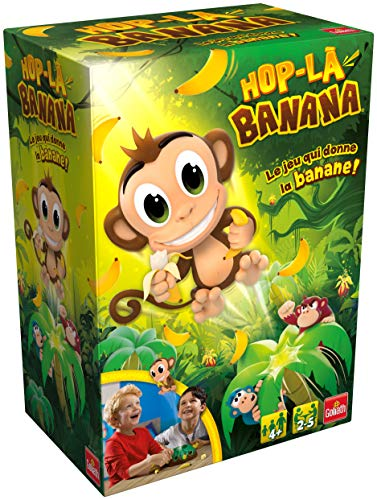 Goliath - Hop La Banana - Jeux d'enfants - à partir de 4 ans- Jeu de société - Jeu d'adresse et rapidité