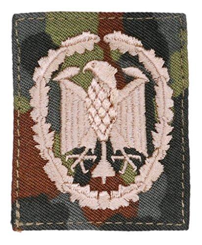 Viele verschiedene Stoffabzeichen: leistungsabzeichen und Barettabzeichen der Deutschen Bundeswehr Aufnäher für Uniform Ärmel oder Barett (Bronze auf flecktarn)