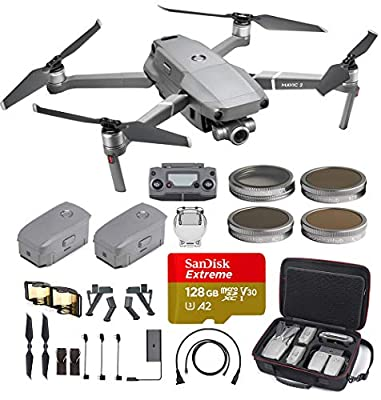 DJI Mavic 2 Zoom with Hard Professional Case, ND Filters Set and More