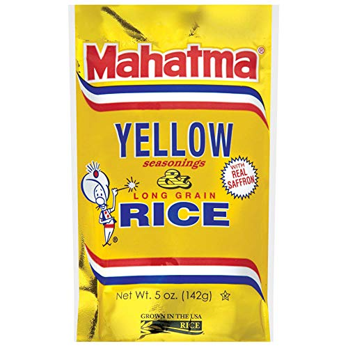 Mahatma Saffron Yellow Rice Mix, 5 oz (Pack of 12)