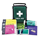 Reliance REL192 Essentials HSE 1 Person Travel First Aid Kit, Helsinki Bag