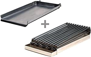 Rocky Mountain Cookware MGB12-8 2-Burner Add on Griddle/Broiler Combo by Rocky Mountain
