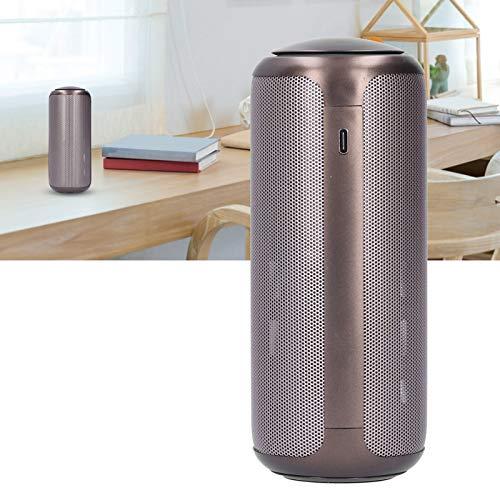 Limpiador purificador de aire, ambientador portátil de 2 engranajes de ajuste de aromaterapia enchufable con columna de aromaterapia, purificador de aire de control táctil