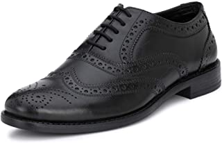 Saddle & Barnes Men's Leather Brogue Shoes