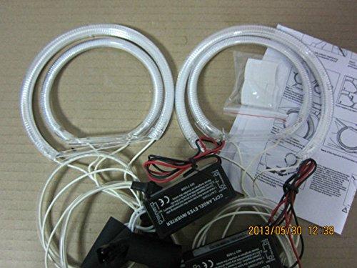 TMT LEDs (TM) Kit CCFL Angel Eyes anneaux Angel Eyes 2 x 131 mm 2 x 105 mm