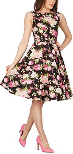 Black Butterfly 'Audrey' Vintage Divinity Kleid im 50er-Jahre-Stil - 7