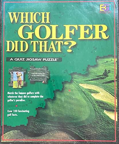 Golf Trivia Jigsaw Puzzle - Which Golfer Did That?