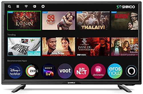 Shinco 80 cm (32 Inches) HD Ready Smart LED with Alexa Built-in