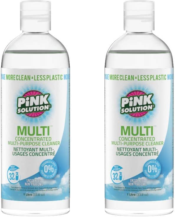 Pink Solution お中元 Multi Concentrated Multi-Purpose Natural 保証 Cleaner